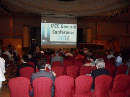 18–19 ноября 2012 в г.Куала-Лумпур (Малайзия) проходила Генеральная конференция Международной федерации клинической химии и лабораторной медицины (IFCC)